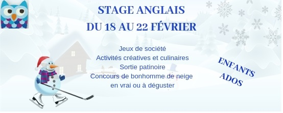 2019 stage février Winter is Fun